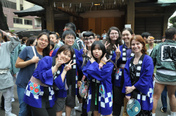 氷川神社例祭に参加しました!