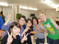 秋の留学生交流パーティー!