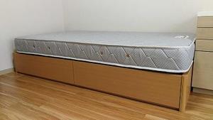 ベッドと冷蔵庫が新しくなりました!