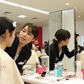 就活に役立つベーシックメーク講座2019@資生堂美容技術専門学校