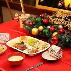 クリスマスディナーと学生会館